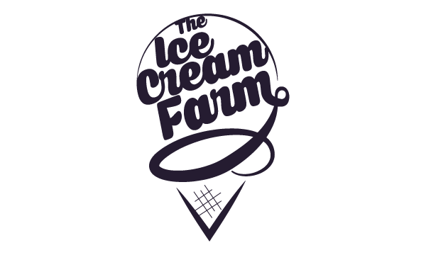 the ice cream farm logo