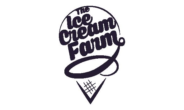 the ice cream farm logo
